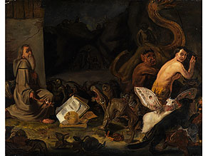 Detail images:  Matheus van Helmont, 1623 Antwerpen - 1679 Brüssel