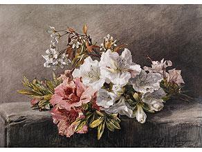 Detail images:  Geraldine Jacoba van de Sande Bakhuyzen, 1826 – 1895