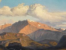 Detail images: Georg Heinrich Crola, 1804 Dresden - 1879 Ilsenburg am Harz