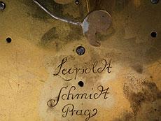 Detail images: Louis XVI-Kaminuhr