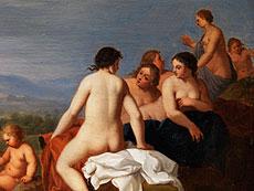 Detail images: Cornelis van Poelenburgh, um 1586 Utrecht - 1667 Utrecht