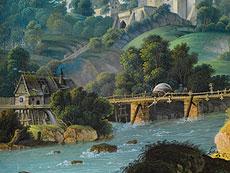 Detail images: Anton Lohmann, Maler des beginnenden 19. Jahrhunderts