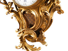Detail images: Kartelluhr im Louis XV-Stil