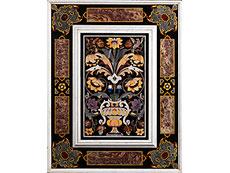 Detail images: Paar italienische Pietra dura-Wandbekleidungsplatten