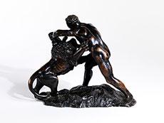 Detail images: Samson mit dem Löwen