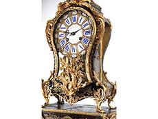 Detail images: Französische Louis XV-Pendule