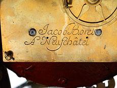 Detailabbildung: Französische Louis XV-Pendule