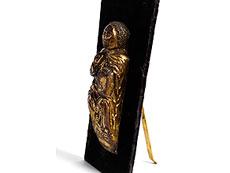 Detail images: Relieffigur eines Heiligen (Moses)