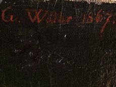 Detail images: Gustav Walther, 1828 Ronneburg / Gera - 1904 Altenburg / Sachsen
