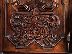 Detail images: Barock-Schrank aus dem Kloster Taxa