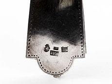 Detail images: Russisches Reliquien-Vortragekreuz aus Silber