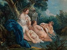 Detail images: François Boucher, Maler des ausgehenden 18. Jahrhunderts, in der Art von