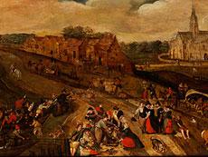 Detail images: Jacob Grimmer, um 1525 Antwerpen - um 1590, Umkreis des