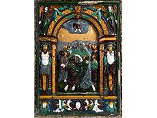 Detail images: Große Keramik-Ädikula des 17. Jahrhunderts