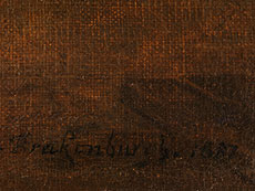 Detail images: Richard Brakenburgh, 1650 Harlem - 1702