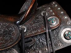 """Detail images: Westernsattel, von """"Mrs. Dusty Owens"""""""