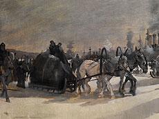 Detail images: An. Johanson, Nordischer Maler des 19./ 20. Jahrhunderts