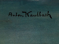 Detail images: Anton Kaulbach, 1864 Hannover - 1930