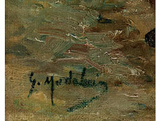 Detail images: † Gustave Madelain, 1867 Charly / Aisne - 1944