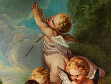 Detail images: † François Boucher, 1703 Paris - 1770 Werkstattnachfolge/ Umkreis des