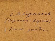 Detail images: Georgij Wasiljewitsch Kurnakov, 1887