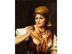 Detail images: Deutsch-österreichischer Maler im Stilumkreis/ Nachfolge von Eugen von Blaas