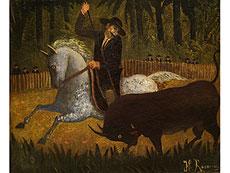 Detailabbildung: Henri Rousseau, 1844 - 1910 Paris