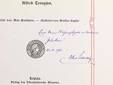Detail images: Bücher mit kunstvollen Jugendstil-Einbänden