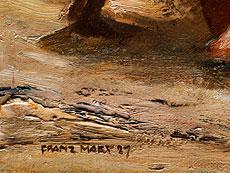 Detail images: Franz Marx, 1889 München - 1960