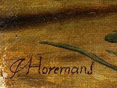 Detail images: Jan Josef Horemans, d. J., 1714 - 1790