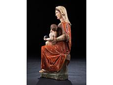 Detail images: Italienische Madonna mit Kind