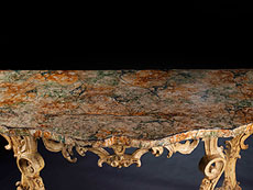 Detail images: Paar italienische Wandkonsoltische