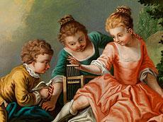 Detail images: Französischer Maler des 18./ 19. Jahrhunderts