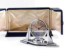 Detail images: Pendulette Misterieuse Art Deco