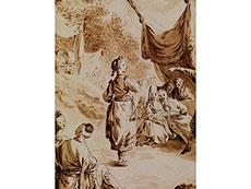 Detail images: Jean-Baptiste Leprince, 1734 - 1781