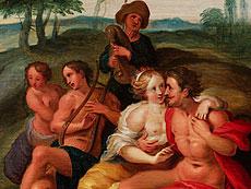 Detail images: Frans Francken II., 1581 Antwerpen - 1641, zug.