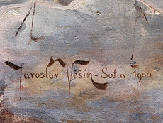 Detail images: Jaroslav Friedrich Julius Vesin, 1859 - 1915 Sofia