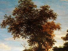 Detail images: Jacob Salomonsz van Ruisdael, 1628 – 1682, zug.