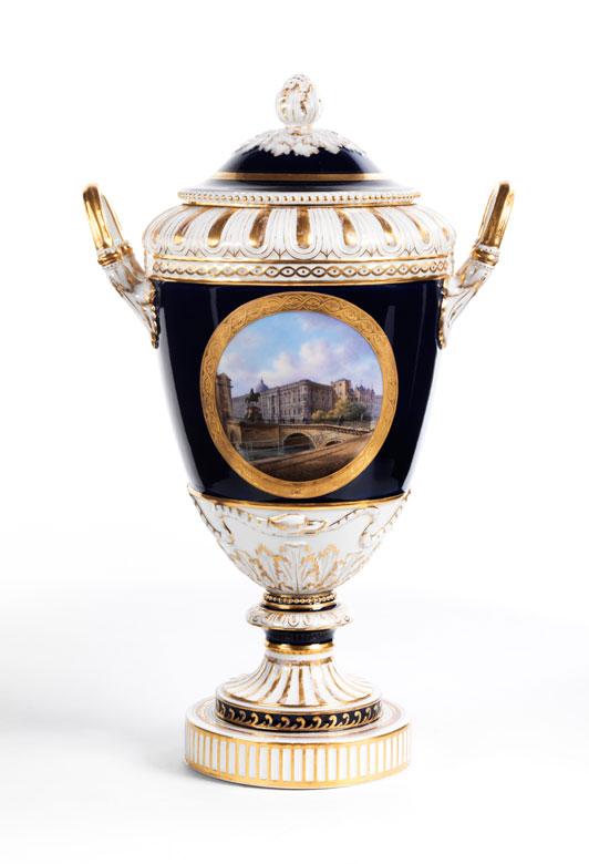 † Berliner KPM-Vase