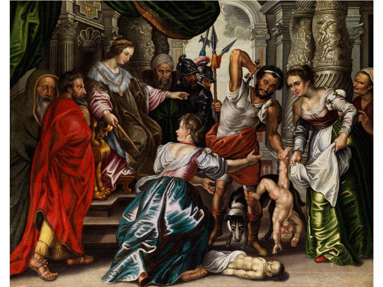 Jean Thomas d'Ypres, 1617 Ypres - 1678 Vienne Schüler von Peter Paul Rubens