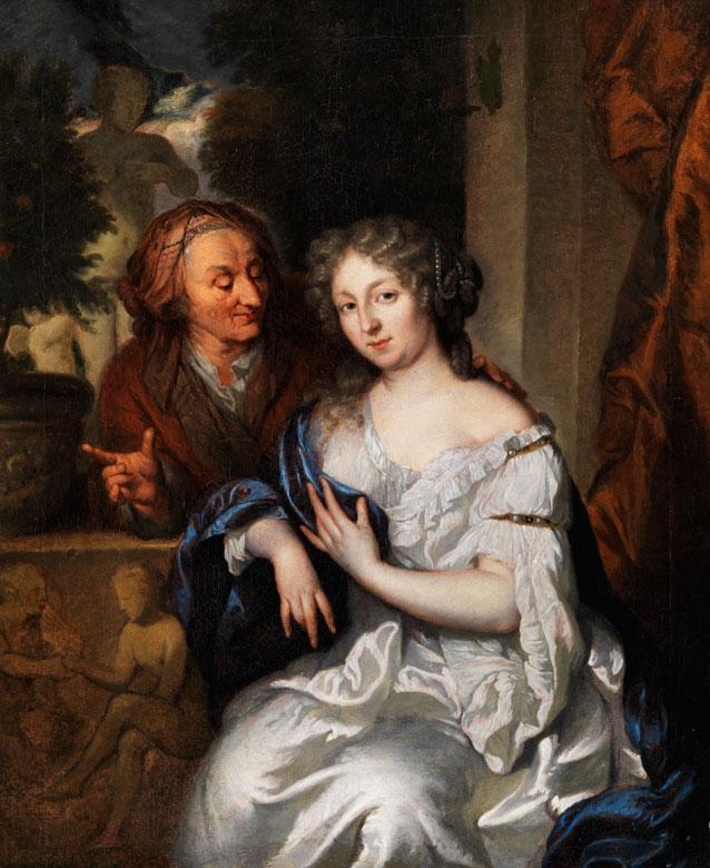 Caspar Netscher 1639 Heidelberg - 1684 Den Haag, zug., Art des