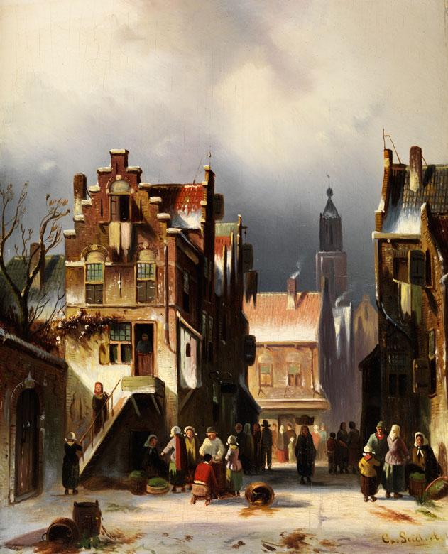 Charles Leickert, 1816 Brüssel - 1907 Mainz