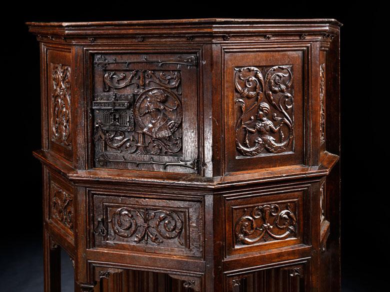 M bel im gotik renaissance stil hampel fine art auctions - Viktorianische mobel ...