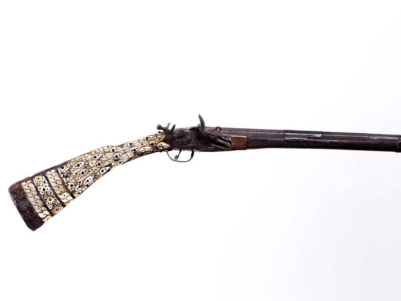 Orientalisches Steinschlossgewehr