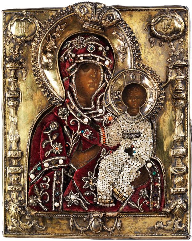 Ikone Gottesmutter Hodegitria