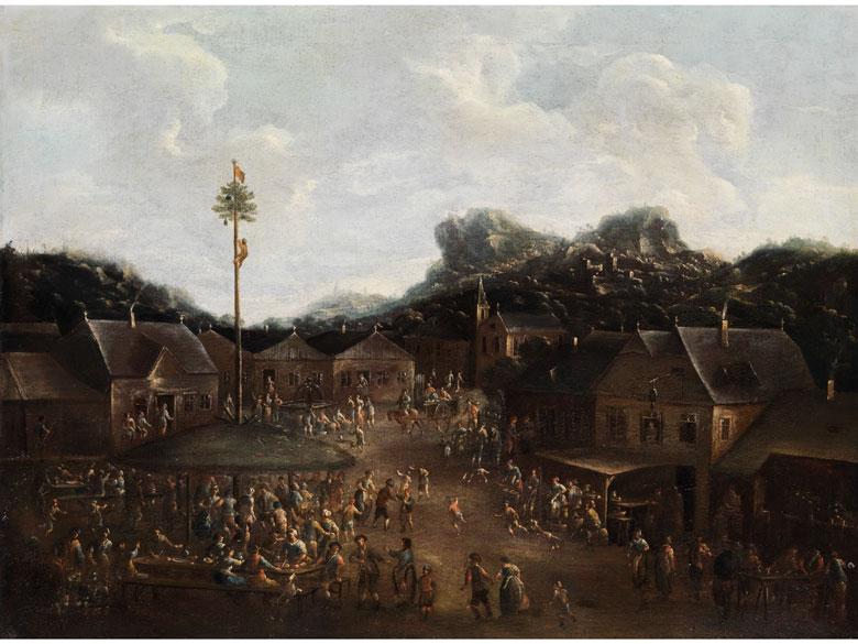 Pieter Bout, 1658 - 1719, zug.