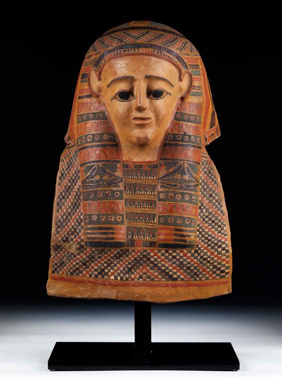 Ägyptische Mumienmaske