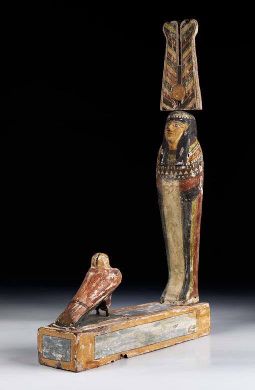 Statue des Gottes Ptah-Sokar-Osiris