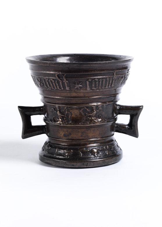 Bedeutender Bronzemörser von Willem Hachmann