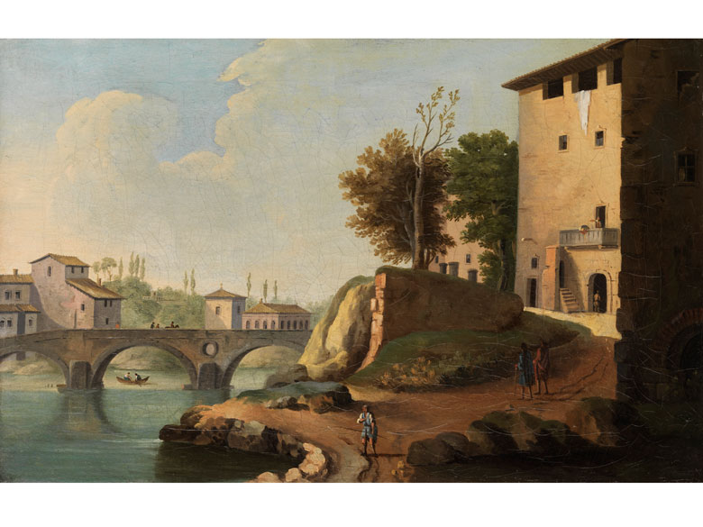 Paolo Anesi, ca. 1700 Rom - ca. 1761, zug.